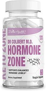 Divine Health's Hormone Zone |150mg of DIM | 100mcg of Vitamin K2 | 1000IU of Vitamin D3 | 60 Day Supply | 60 Capsules |