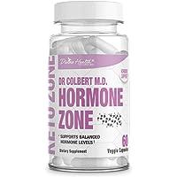 Divine Health Dr.Colbert's Hormone Zone for Health Hormone Levels Vitamins D3, K2 and Diindolylmethane (DIM)