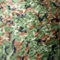IUNIO Camouflage Netting, Camo Net Blinds Great For Sunshade Camping Shooting Hunting etc.
