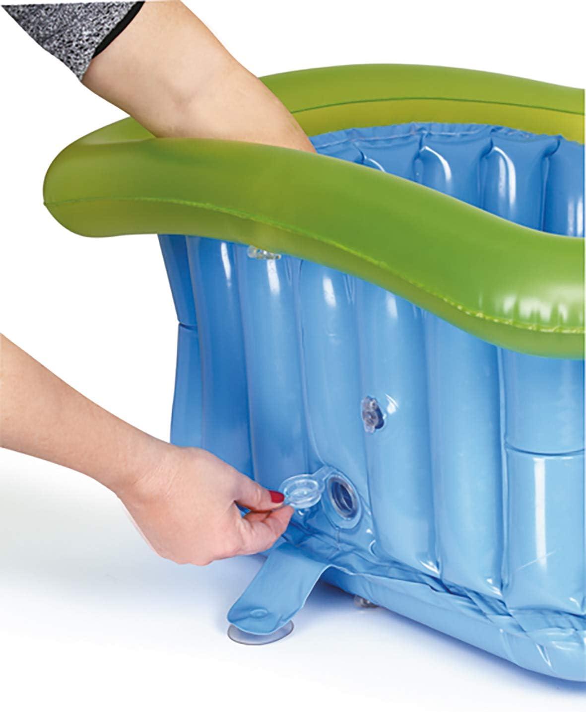 Gonfiabile 600 g 70 litri Jan/é Riduttore per Piatto Doccia 60x60 cm con Ventose e Tappo di Scarico Comprende una Pompa