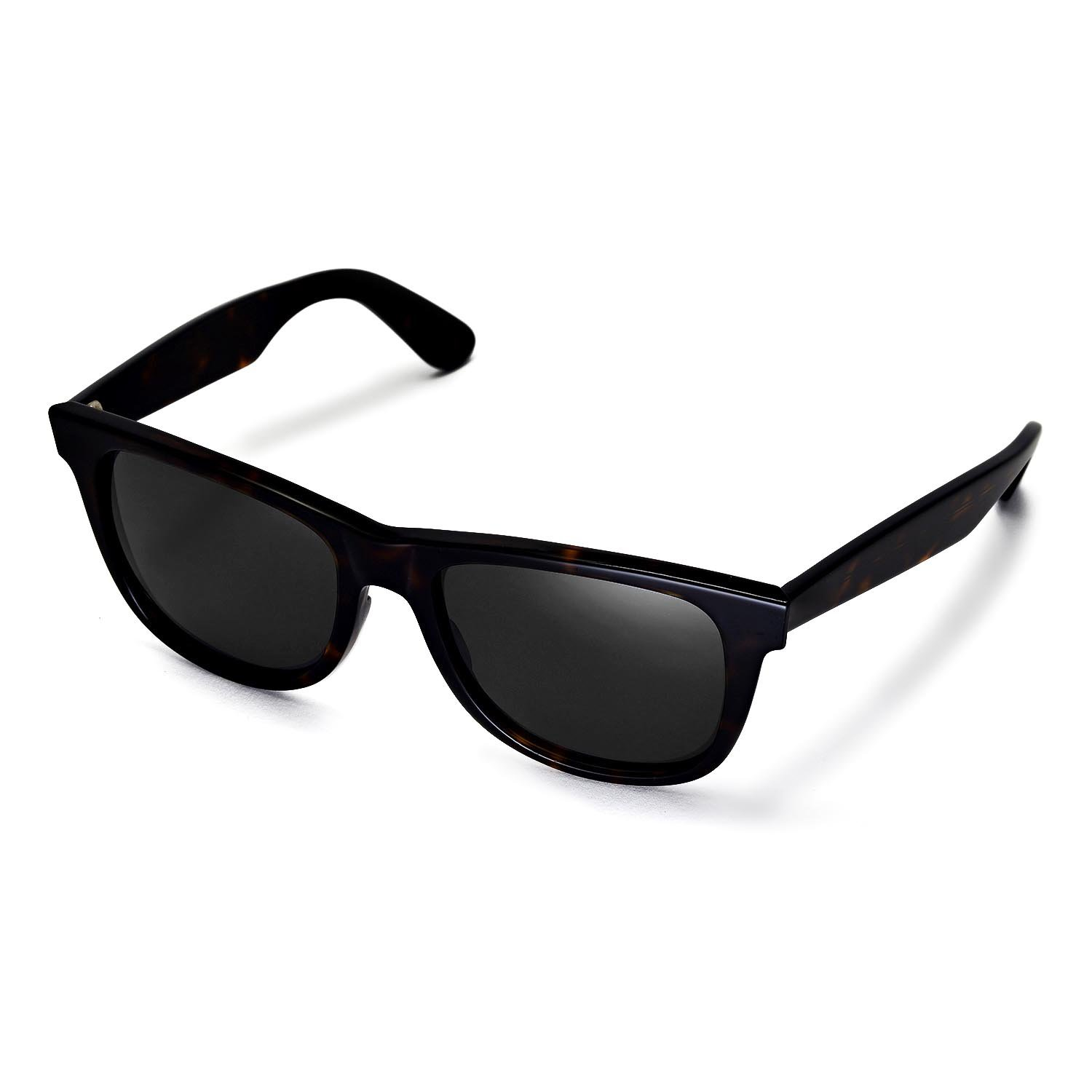 71062e23c Amazon.com: Walleva Replacement Lenses for Ray-Ban Wayfarer RB2140 54mm  Sunglasses - Multiple Options Available(Black - Polirazed): Clothing