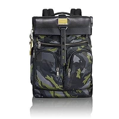 Tumi Men's Alpha Bravo London Roll-Top Backpack