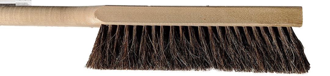 Chef Felton - CHEF826 - (Pack of 2) Pizza Oven Horse Hair Brush - 39'' Long Handle - Made in Canada