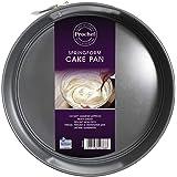 Prochef Cake ring met Teflon antiaanbaklaag, 23 cm doorsnee, grijs