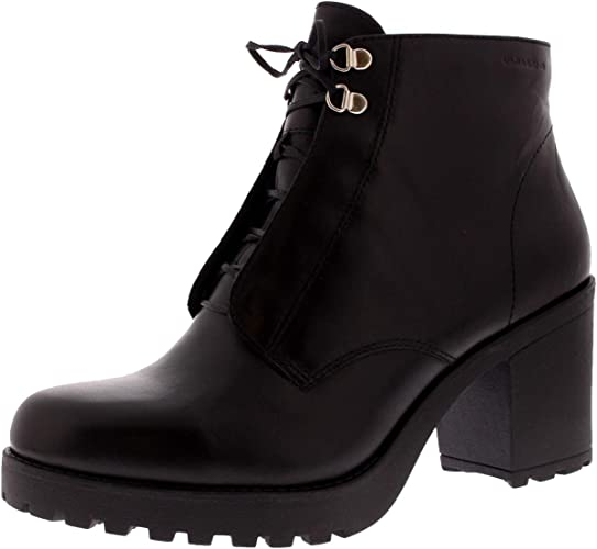 Womens Vagabond Grace Black Leather