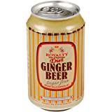 Royalty Ginger Beer Diet 330ml (Pack of 12)