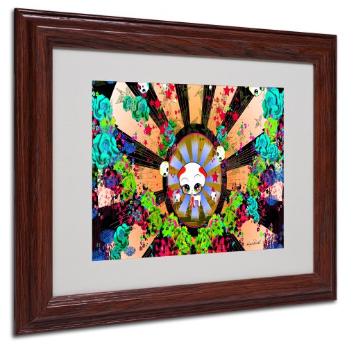 New Hummingbirds by Miguel Paredes, Wood Frame 11x14-Inch