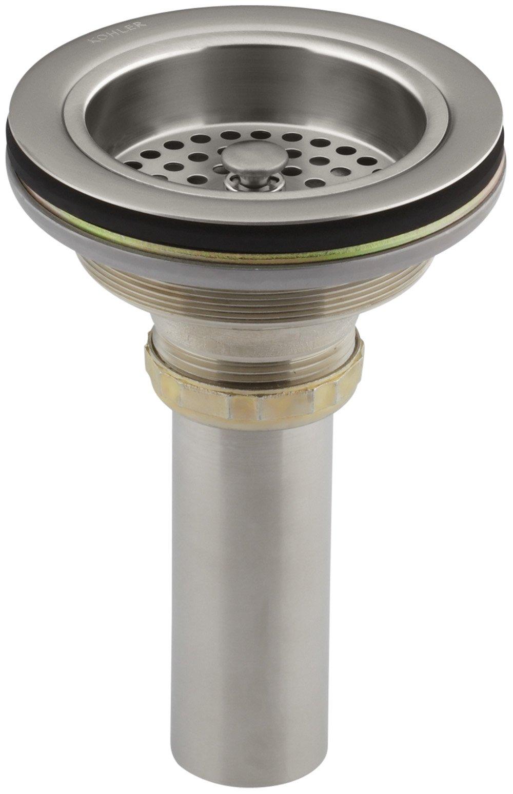 KOHLER K-8801-VS Duostrainer Sink Strainer, Vibrant Stainless by Kohler
