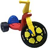 The Original Big Wheel 16 Tricycle Big Wheel for Kids 3-8 Boys Girls Trike - Original 1969 Clicker Sound - Made in USA