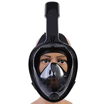 Funsport Anti-Fog Protective Mask in schwarz Airsoft
