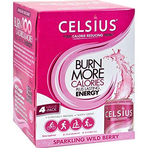 CELSIUS INC. DRINK,SPRKLNG WILD BERRY, 4/12 FZ ()