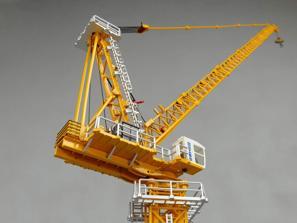 1:100 XCMG XCTL180 Luffing Tower Crane Model, High Tower Crane, Collection