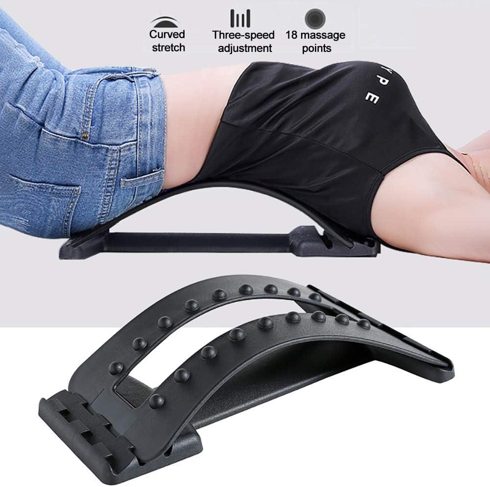 Equipo de Estiramiento para Yoga Cuerda para Yoga y Gimnasia Ballet y Entrenamiento de Gimnasia Allsunny estirador de Cintura y Columna Lumbar Corrector de Dolor masajeador de Espalda
