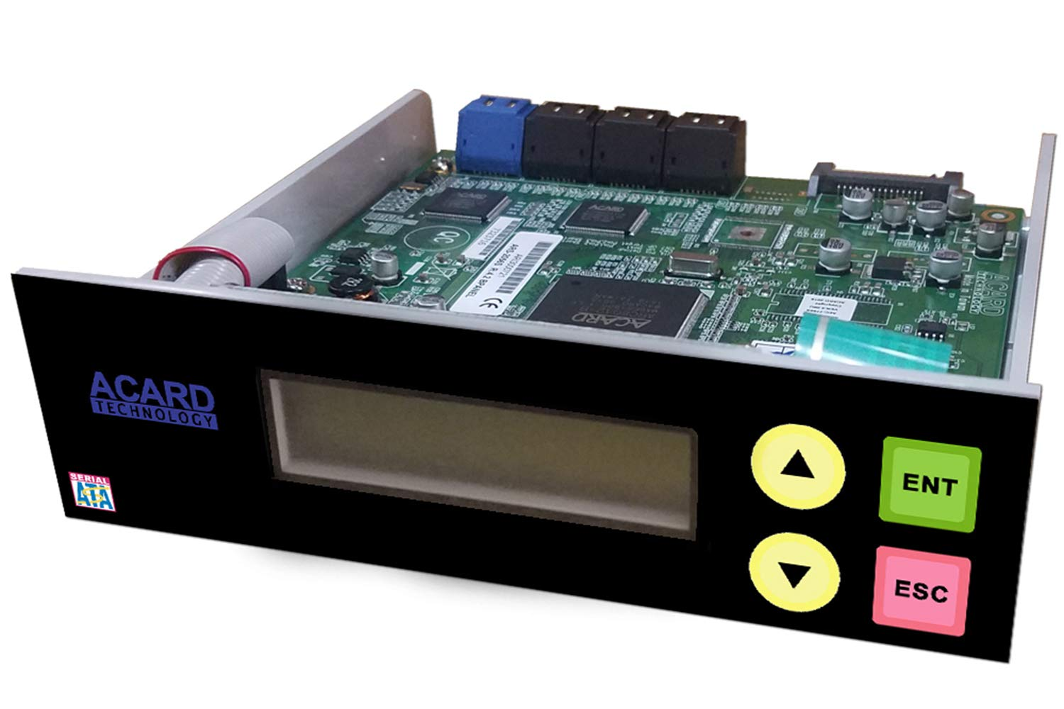 Acard 1 to 7 Controller for DVD/CD Disc Copy Duplicator + sata Cables