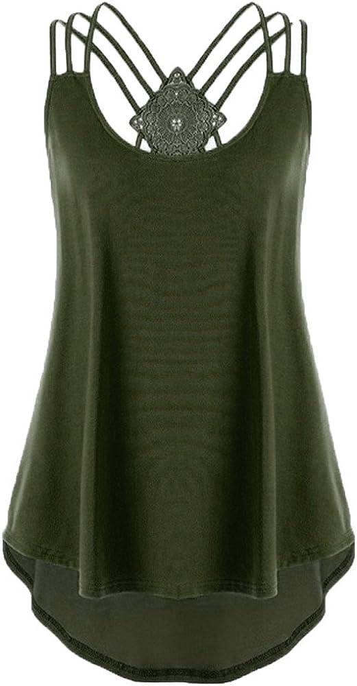 LEKODE Women Workout Solid Yoga Shirt Fashion Tank Casual Vest