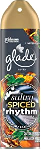 Glade Air Freshener Aerosol Spray, Sultry Spiced Rhythm Scent   Limited Edition - 8 Ounce Each Can (Pack of 3)