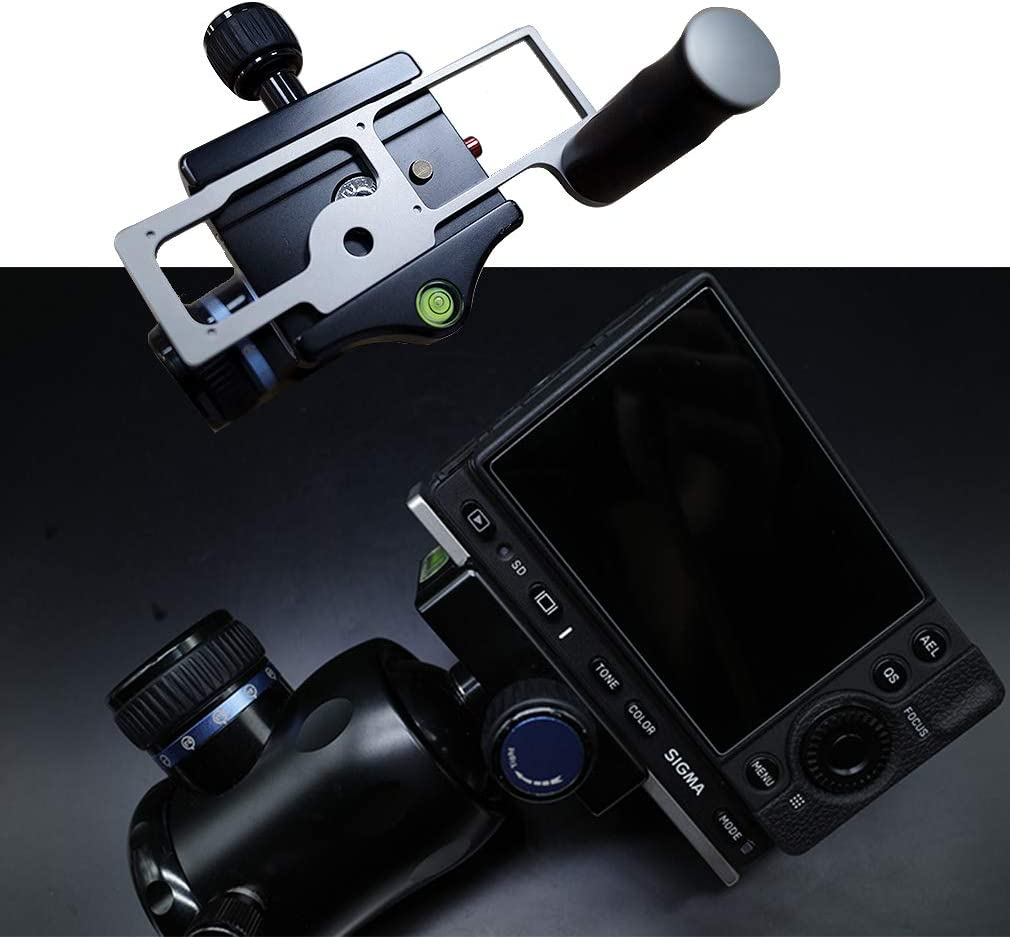 Quick Release L Plate Bracket Hand Grip Compatible with Sigma fp DSLR Camera Sigma fp-DB-01