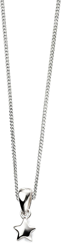 Elements Silver Girls 925 Sterling Silver Pendant Necklace of Length 36cm AZ-P4581