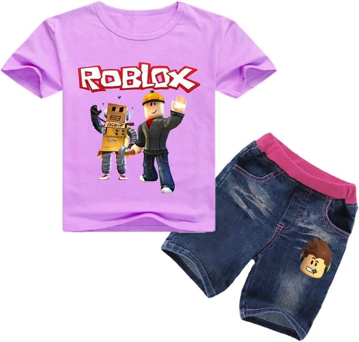 Xcolee Roblox Conjunto De Camisetas Y Pantalones Cortos De Manga