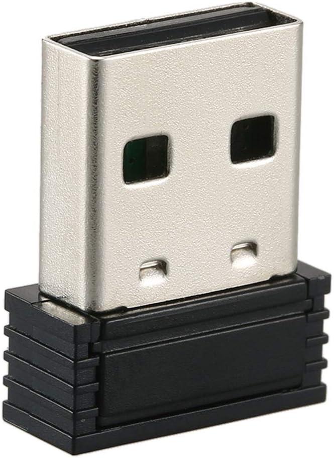 No nulo Tama/ño libre negro Vap26 Mini ANT+ USB Stick Adaptador Port/átil para Zwift para Wahoo Ciclismo