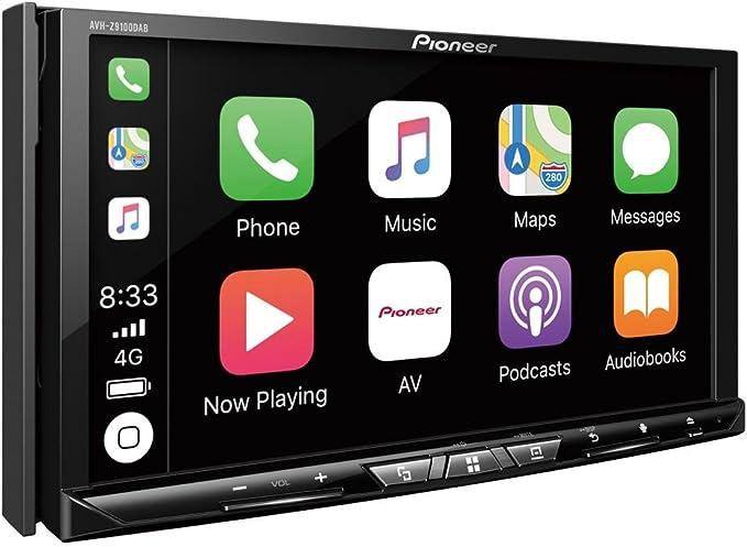 Pioneer Avh-Z9100DAB - Sistema de Entretenimiento Multimedia WiFi de 7 Pulgadas, Apple Carplay, Android Auto, Bluetooth y Dab: Amazon.es: Coche y moto