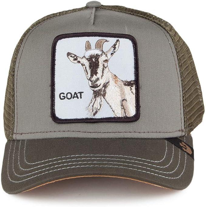 Gorra Trucker Goat de Goorin Bros. - Verde Oliva - Ajustable ...