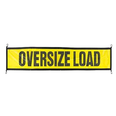 Oversize Warning Products - EZ Hook Escort Oversize Load Sign: Automotive