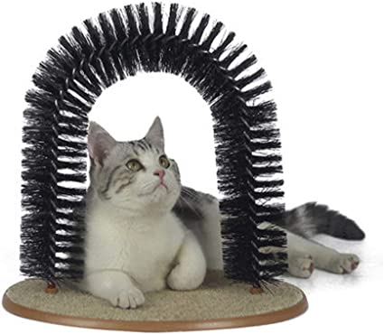 Whamsha Juguete para Gato, Arco, rascador para Gatos y Arco, Auto ...
