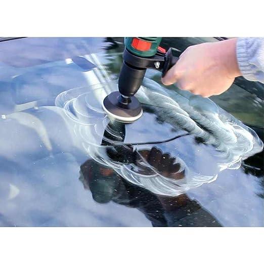 Glass Polish Parabrisas pulido DIY Kit de reparación - Coche Cristal Reparación - elimina limpiaparabrisas daños, superficie marcas, agua manchas - (3 ...