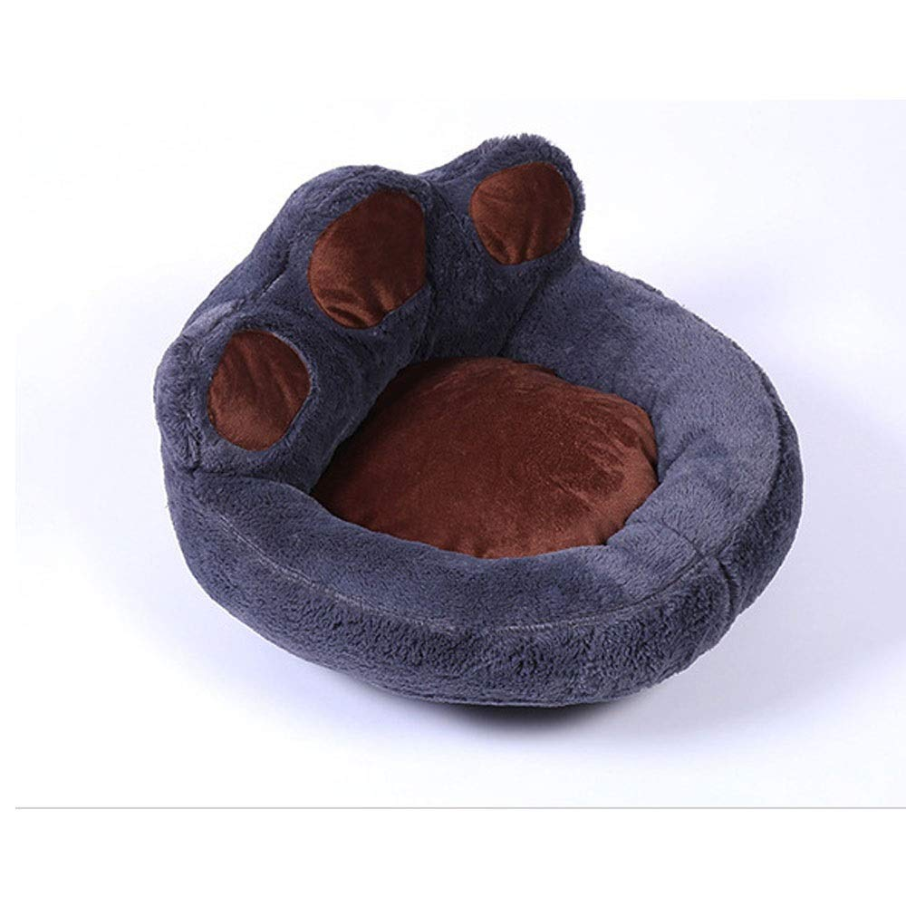 Black Medium Black Medium ETH Cute Ankle Cute Pet Doghouse Trendy Removable Short Plush Pet Nest Outdoor Fashion Dog Supplies (color   Black, Size   Medium)