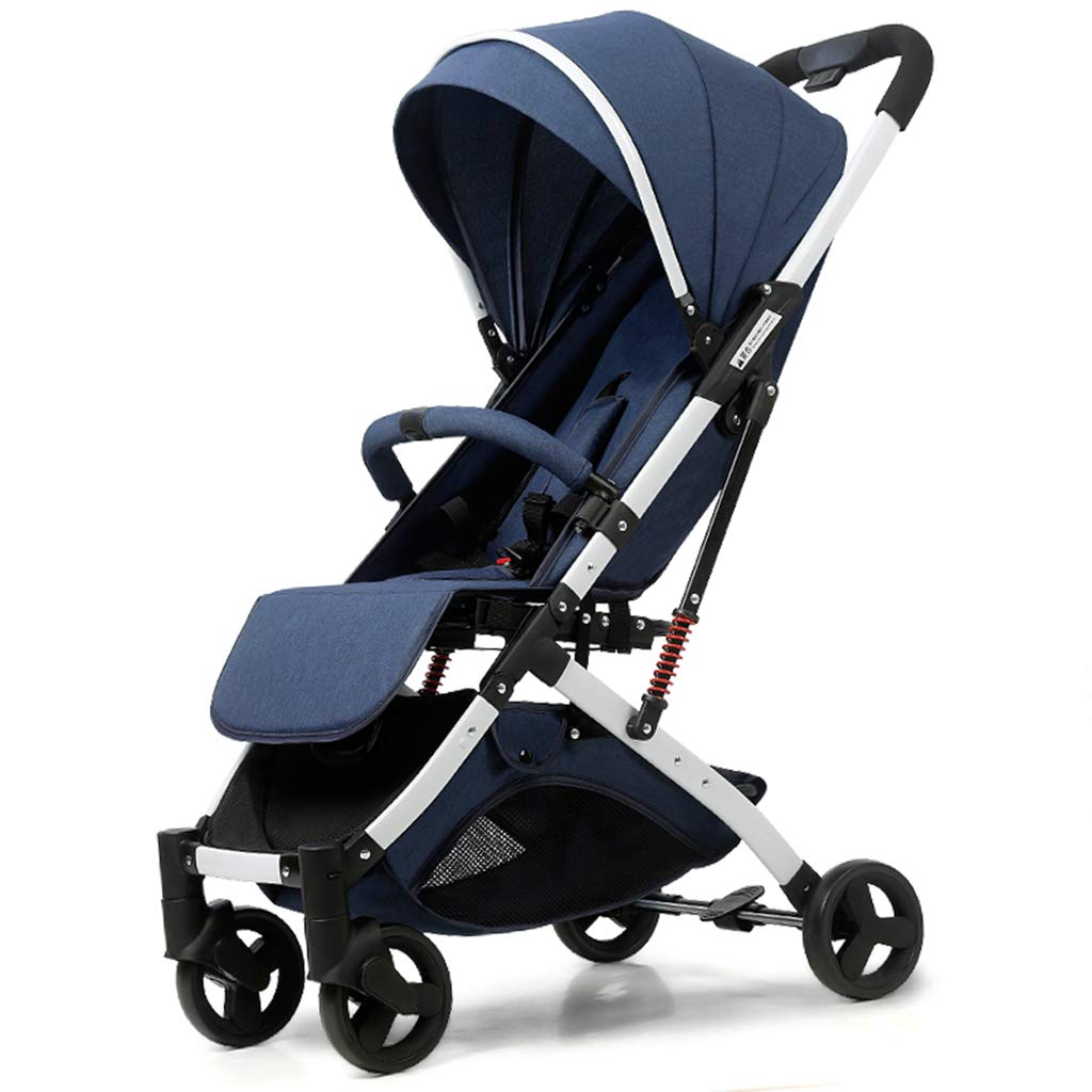 OCYE Lightweight Stroller with 5-Point Safety System and Multi-Position Reclining seat, Extended Awning, Simple one-Hand Folding, Large Storage Basket Folding Stroller by OCYE