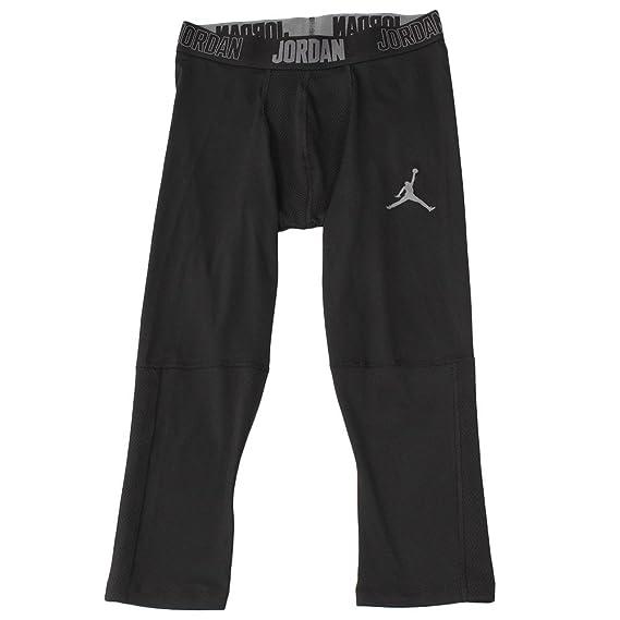 Nike 23 Alpha Dry 3/4 Mallas Línea Michael Jordan de Baloncesto, Hombre