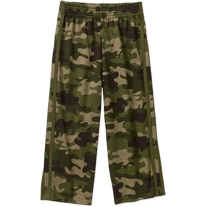 d63ec1c929 Amazon.com: Garanimals Baby Toddler Boy Knit Athletic Pants Sweatpants:  Clothing