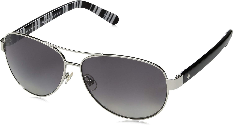 Kate Spade Womens Dalia2//p//s Polarized Rectangular Sunglasses 58 mm GOLD HAVANA