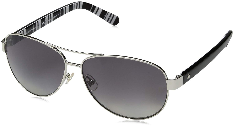 Amazon.com: Kate Spade anteojos de sol Dalia 079d Plata ...