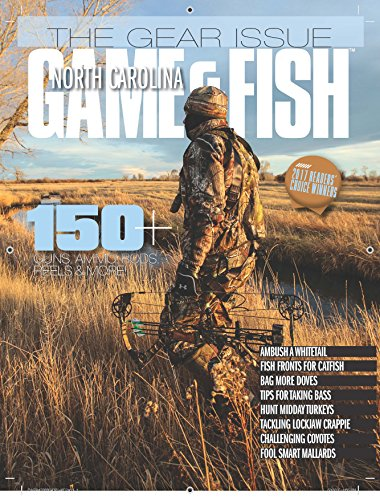 North carolina game fish magazine from 19 compare 24 for Nc fish and game