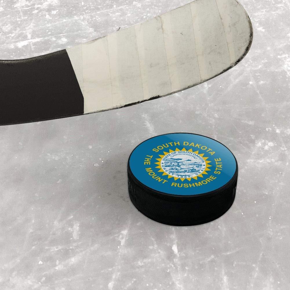 GRAPHICS /& MORE South Dakota State Flag Ice Hockey Puck