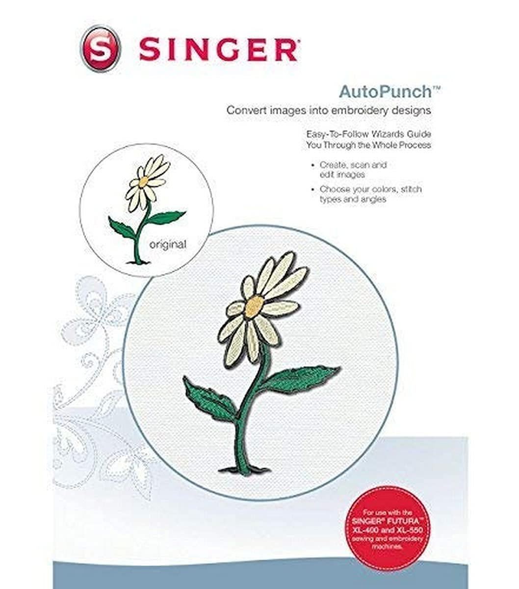 SINGER | Futura Auto Punch Software for XL-400 Sewing and Embroidery Machine