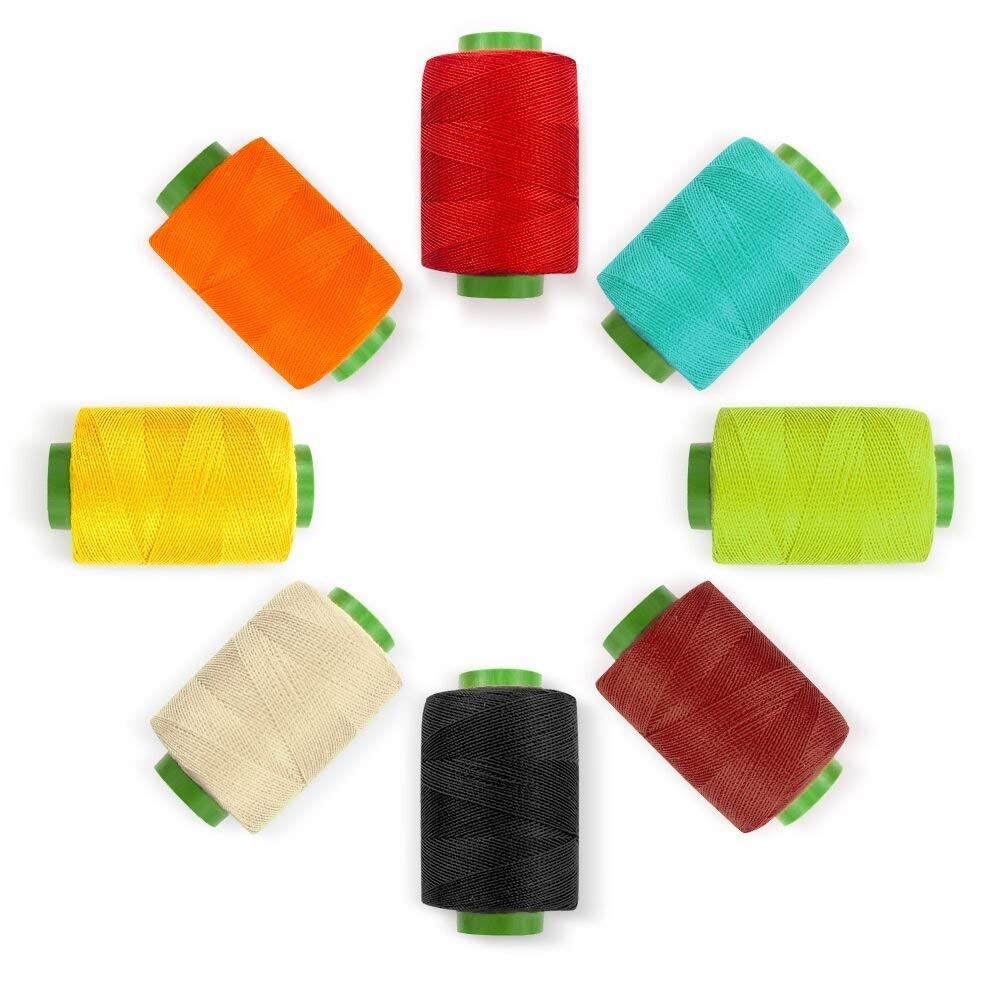 96Colors Sewing Thread Assortment Coil 250 Yards Each, Sewing Kit All Purpose Polyester Thread for Hand (96)