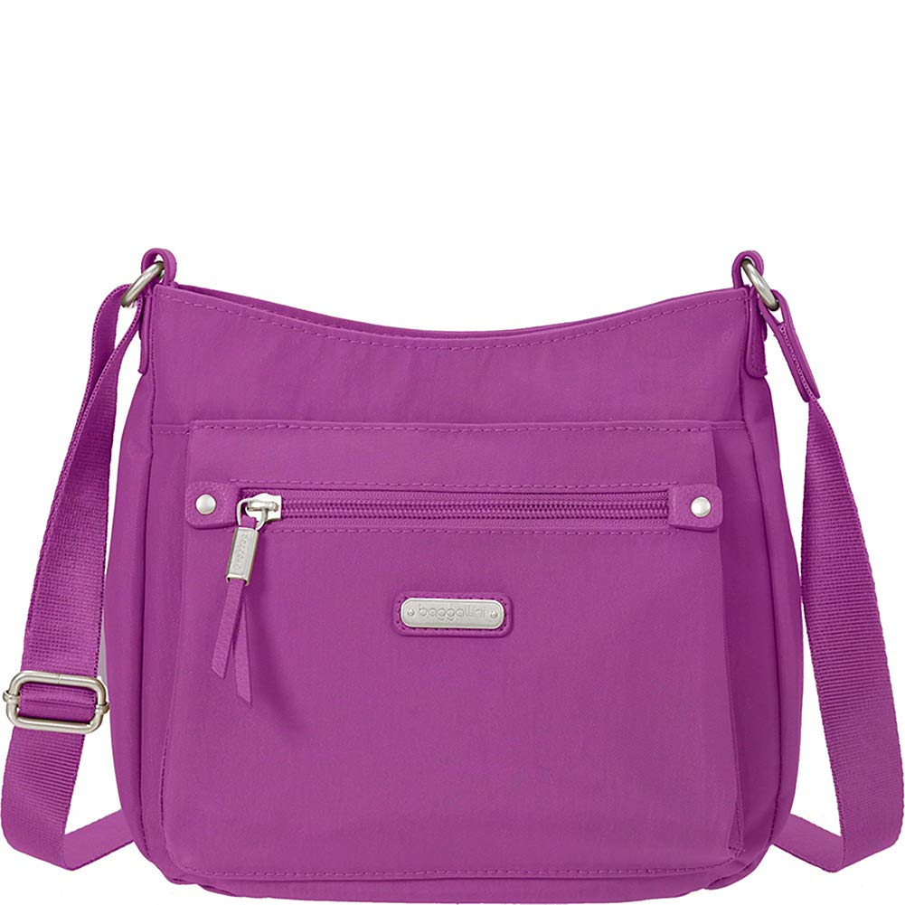 baggallini Uptown Bagg with RFID Phone Wristlet (Sorbet) by Baggallini
