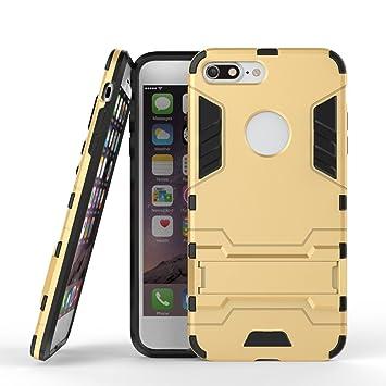 Ougger Fundas para iPhone 8 Plus Carcasa Cover, Protector Extrema Absorción de Impacto [Soporte