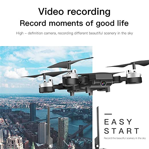 ZHTY WiFi FPV Drone 2.0MP/5.0MP Cámara Flujo óptico Sin Cabeza ...