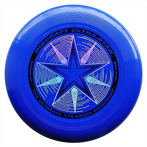 Discraft 175 gram Ultra Star Sport Disc, Royal Blue