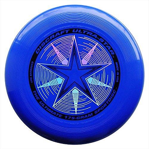 - Discraft 175 gram Ultra Star Sport Disc, Royal Blue