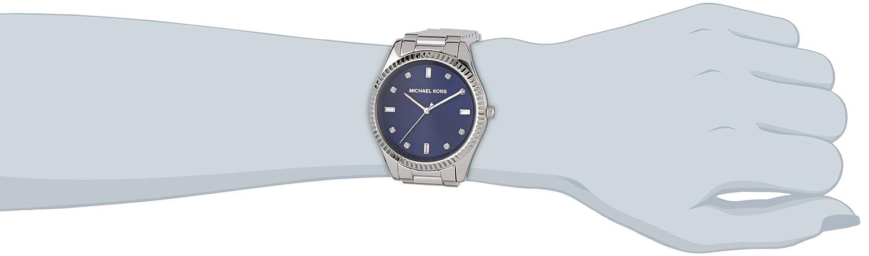 054b62e177bc Amazon.com  Michael Kors Blake Blue Dial Stainless Steel Women s Watch  MK3225  Michael Kors  Watches