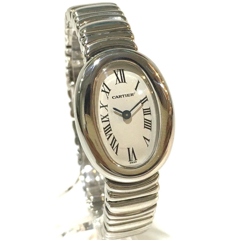 (カルティエ) CARTIER W15189L2 ミニ ベニュワール レディース腕時計 腕時計 K18WG レディース 中古 B07DCS3DF8