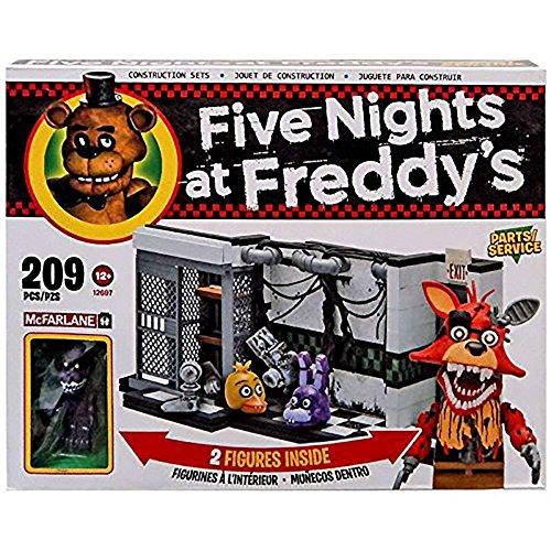 McFarlane Five Nights at Freddy's Parts/Service Exclusive 209 piece building set