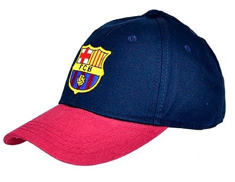 FCB Nuevo Oficial FC Barcelona Gorra de béisbol - Borgoña