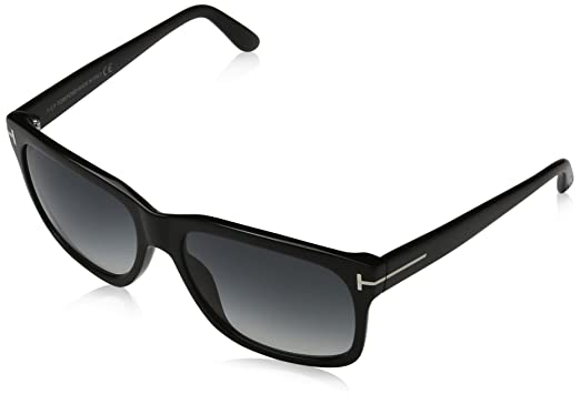 Amazon.com: Tom Ford FT0376 02N Barbara Sunglasses, Black Frames ...