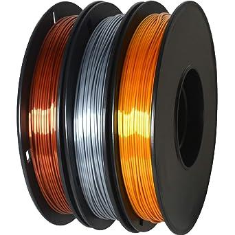 GIANTARM - Filamento de seda PLA 1,75 mm, para impresora 3D ...